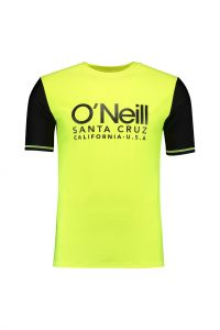 O'Neill---Shirt-à-manches-courtes-anti-UV-pour-hommes---Cali---New-Safety-Yellow