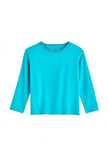 Coolibar---UV-Shirt-for-toddlers---Longsleeve---Coco-Plum---Turquoise