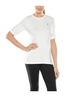 Coolibar---UV-Fitness-Top-for-women---Devi---White