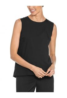 Coolibar---UV-Tank-Top-for-women---St.-Tropez-Swing---Black