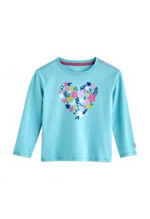 Coolibar---UV-Shirt-for-toddlers---Longsleeve---Coco-Plum-Graphic---Ice-Blue