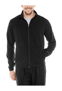Coolibar---UV-Sport-Jacket-for-men---Outspace---Black
