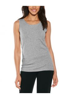 Coolibar---UV-Tank-Top-for-women---Morada-Everyday---Grey