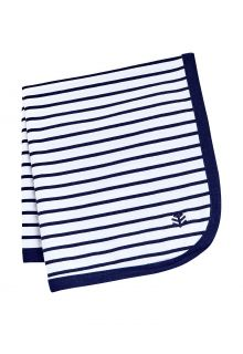 Coolibar---UV-resistant-Sun-Blanket-for-babies---Batibou---White/Navy
