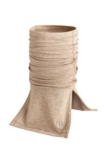 Coolibar---UV-resistant-Neck-Gaiter-for-adults---Key-West---Dark-Taupe