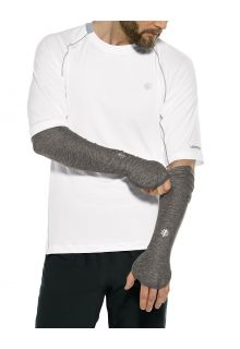 Coolibar---UV-Performance-Sleeves-for-men---Backspin---Charcoal