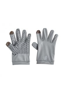 Coolibar---UV-resistant-gloves-for-kids---Y-Gannet---Pebble-Grey