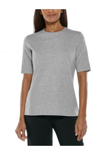 Coolibar---UV-Shirt-for-women---Morada-Everyday---Grey