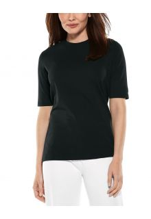Coolibar---UV-Shirt-for-women---Morada-Everyday---Black