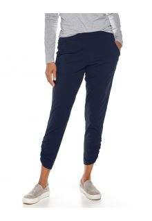 Coolibar---Casual-UV-pants-for-women---Café-Ruche---Navy