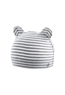 Coolibar---UV-resistant-babyhat---Critter-Fauna---Grey/White