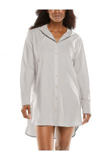 Coolibar---UV-Beach-Shirt-Cover-up-for-women---Palma-Aire---Stone-grey