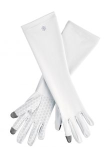 Coolibar---UV-resistant-gloves-with-sleeve-for-adults---Bona---White