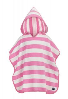 Snapper-Rock---Hooded-towel-pink-stripes