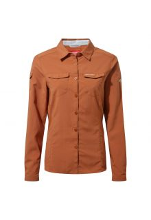 Craghoppers---Blouse-anti-UV-pour-femmes---Manches-Longues---Adventure-II---Toasted-Peacan