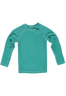 Beach-&-Bandits---T-shirt-de-bain-anti-UV-pour-enfants---Collection-Ribbed---Lagune