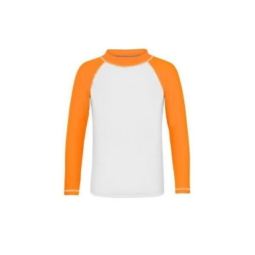 Snapper-Rock---T-shirt-de-bain-anti-UV-pour-garçons---Orange