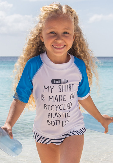 T-shirts de bain anti-UV fille
